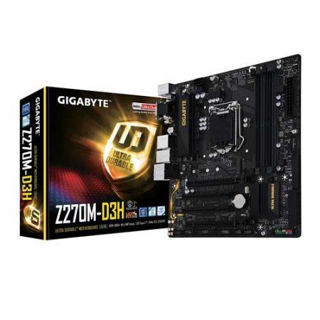 Gigabyte GA-Z270M-D3H Motherboard