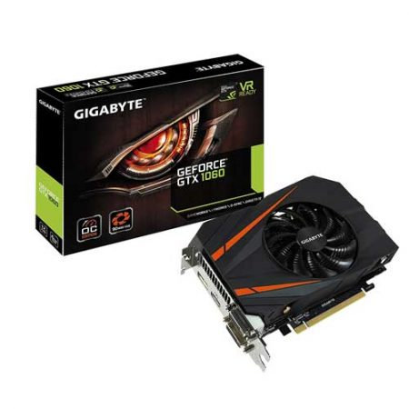 Gigabyte GTX 1060 6GB Mini Graphic Card GV-N1060iXOC-6GD