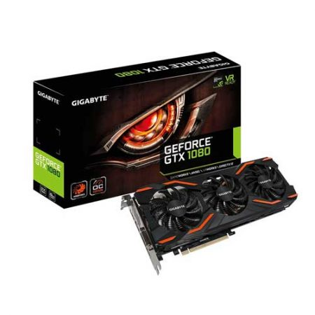 Gigabyte GTX 1080 Windforce OC 8G Graphic Card GV-N1080WF3OC-8GD
