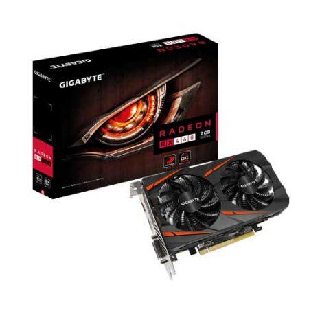Gigabyte-Radeon-RX460-WINDFORCE-OC-2G-Graphic-Card-GV-RX460WF2OC-2GD
