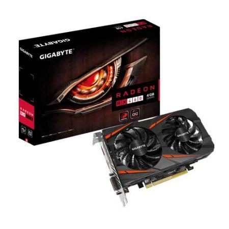 Gigabyte-Radeon-RX460-WINDFORCE-OC-4G-Graphic-Card-GV-RX460WF2OC-4GD