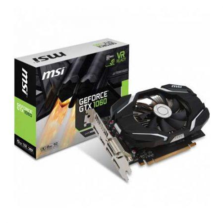 MSI GTX 1060 6G OC Single Fan 6GB Graphic Card