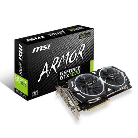 MSI GTX 1070 ARMOR 8G OC 8GB Graphic Card