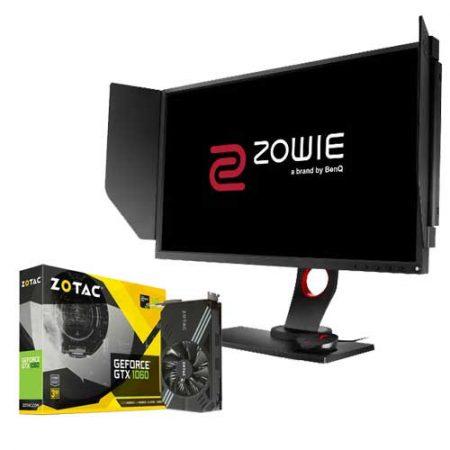 ZOTAC-GTX-1060-Mini-3GB-+-BenQ-ZOWIE-XL2540-240Hz-Monitor