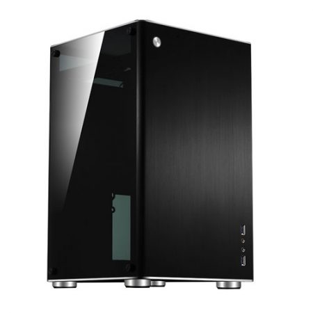 Jonsbo-VR1-Black-mITX-Case-w-Tempered-Glass-Side-Panel