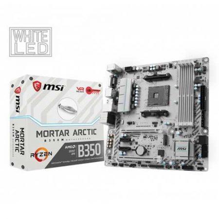 MSI-B350M-MORTAR-ARCTIC-B350-Socket-AM4-Motherboard