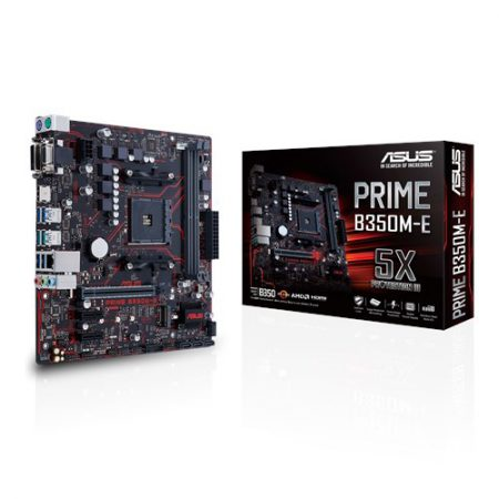 ASUS PRIME B350M-E Socket AM4 Motherboard