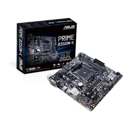 ASUS PRIME B350M-K Socket AM4 Motherboard