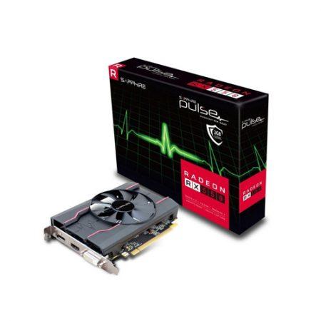 SAPPHIRE GRAPHICS CARD RADEON RX 550 2GB GDDR5 OC PULSE (11268-03-41G)
