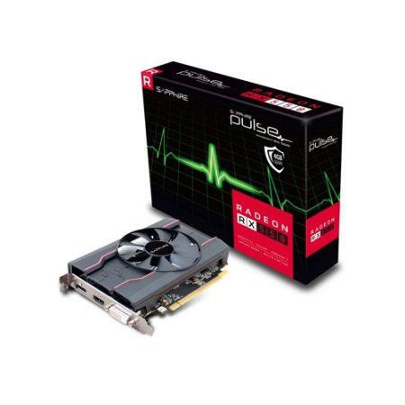 SAPPHIRE GRAPHICS CARD RADEON RX 550 4GB GDDR5 OC PULSE 11268-01-41G
