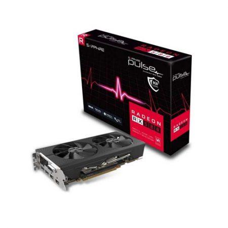 Sapphire Pulse Radeon RX 580 8GB GDDR5 OC ATI PCI E Graphic Card 11265-05-41G