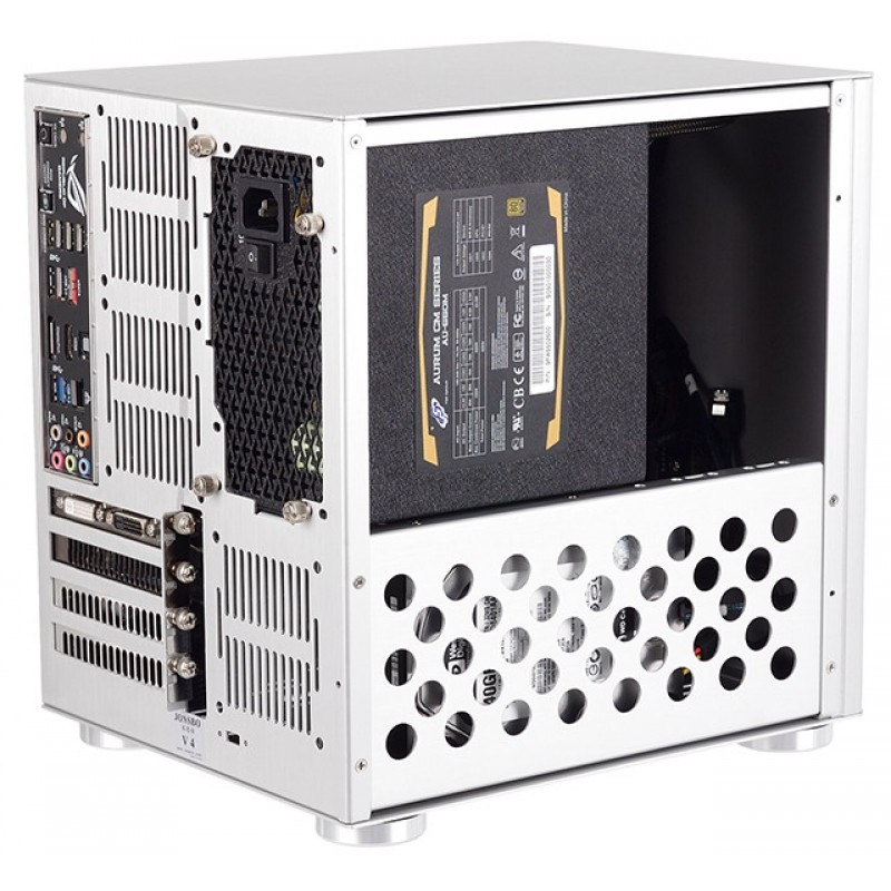 lightbox  sc 1 st  Only SSD & Buy Online | JONSBO V4 Silver Mini Tower Cabinet | Price in India