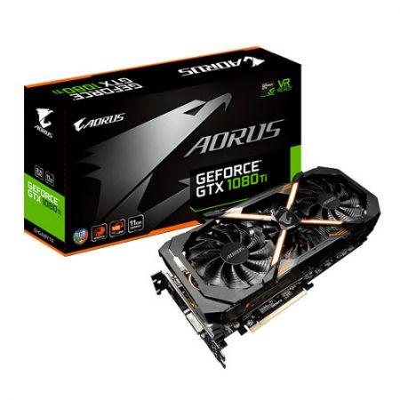 Gigabyte-AORUS-GeForce-GTX-1080-Ti-11G-11GB-Graphic-Card-GV-N108TAORUS-11GD
