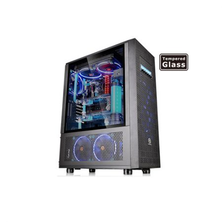 Thermaltake Core X71 Tempered Glass Edition Full Tower Chassis CA-1F8-00M1WN-02