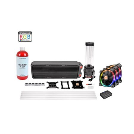 Thermaltake Pacific RL360 D5 Hard Tube RGB Water Cooling Kit CL-W129-CA12SW-A