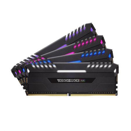 CORSAIR Vengeance RGB 32GB (4 x 8GB) DDR4 3000MHz Desktop Memory CMR32GX4M4C3000C15