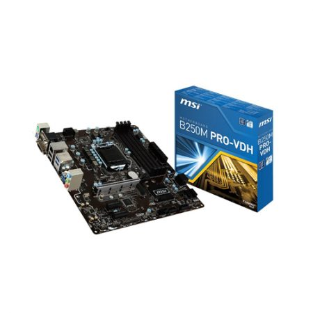 MSI B250M PRO-VDH LGA 1151 Micro ATX Intel Motherboard