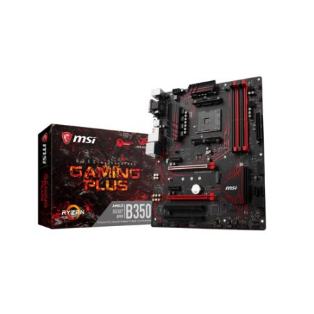 MSI B350 GAMING PLUS AM4 AMD HDMI ATX AMD Motherboard
