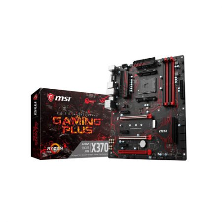MSI X370 GAMING PLUS AM4 AMD HDMI ATX AMD Motherboard