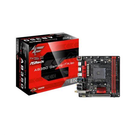 ASRock AB350 Gaming-ITX-ac AM4 Mini ITX AMD Motherboard