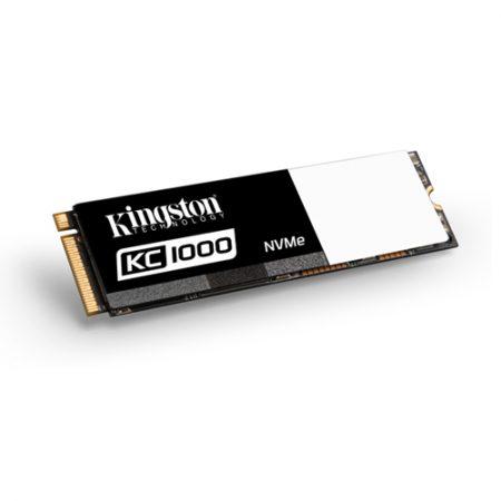Kingston 240GB KC1000 PCIE GEN3 X4 NVMe SSD SKC1000H-240G