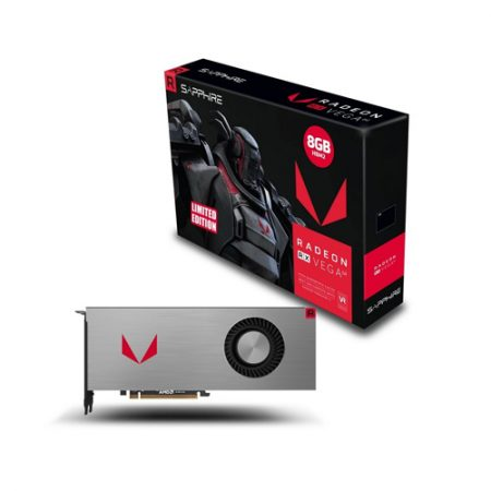 SAPPHIRE RX VEGA 64 8GB HBM2 LIMITED EDITION GRAPHIC CARD 21275-01-20G