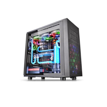 Thermaltake Core X31 Tempered Glass Edition Mid Tower Chassis CA-1E9-00M1WN-03
