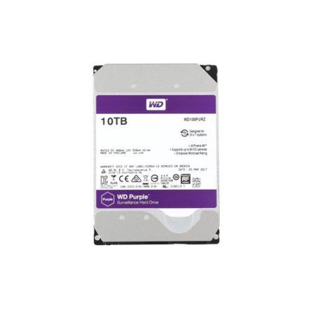 WD Purple 10TB Surveillance Hard Disk Drive WD100PURZ