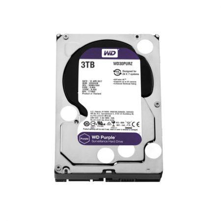 WD Purple 3TB Surveillance Hard Disk Drive WD30PURZ