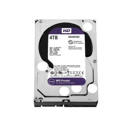 WD Purple 4TB Surveillance Hard Disk Drive WD40PURZ