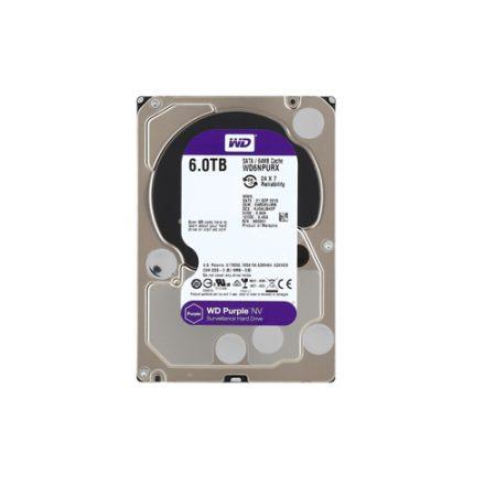 WD Purple NV 6TB Surveillance Hard Disk WD6NPURX