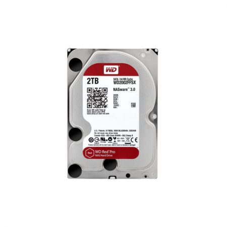 WD Red Pro 2TB NAS Hard Drive Bare Drive WD2002FFSX