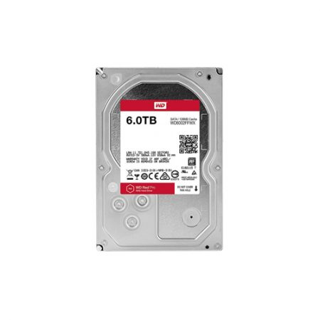 WD Red Pro 6TB NAS Hard Disk Drive WD6002FFWX