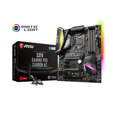 MSI Z370 GAMING PRO CARBON AC Intel Z370 Motherboard