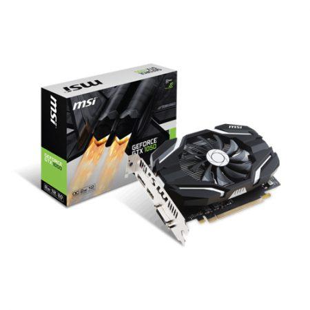MSI GeForce GTX 1050 2G OCV1 Graphic Card