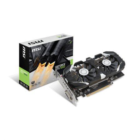 MSI GeForce GTX 1050 2GT OCV1 Graphic Card