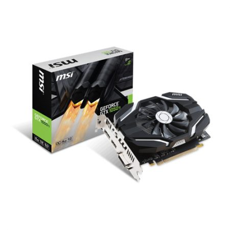 MSI GeForce GTX 1050 Ti 4G OCV1 Graphic Card