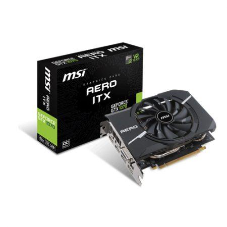 MSI GeForce GTX 1070 AERO ITX 8G OC Graphic Card