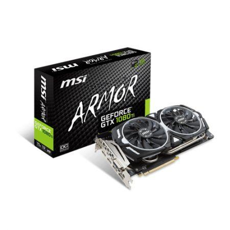 MSI GeForce GTX 1080 Ti ARMOR 11G OC Graphic Card