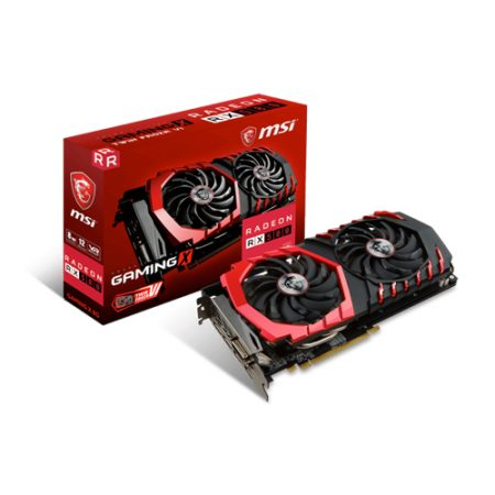 MSI Radeon RX 580 GAMING X 8G Graphic Card