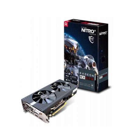 SAPPHIRE NITRO+ RADEON RX 570 8GB GDDR5 GRAPHICS CARD 11266-09-41G
