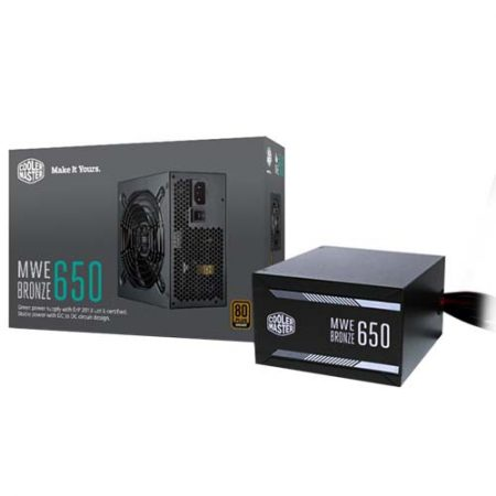 Cooler Master MWE Bronze 650W Power Supply MPX-6501-ACAAB-UK
