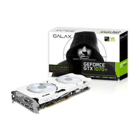 GALAX GeForce GTX 1070 Ti EX-SNPR WHITE 8GB Graphic Card