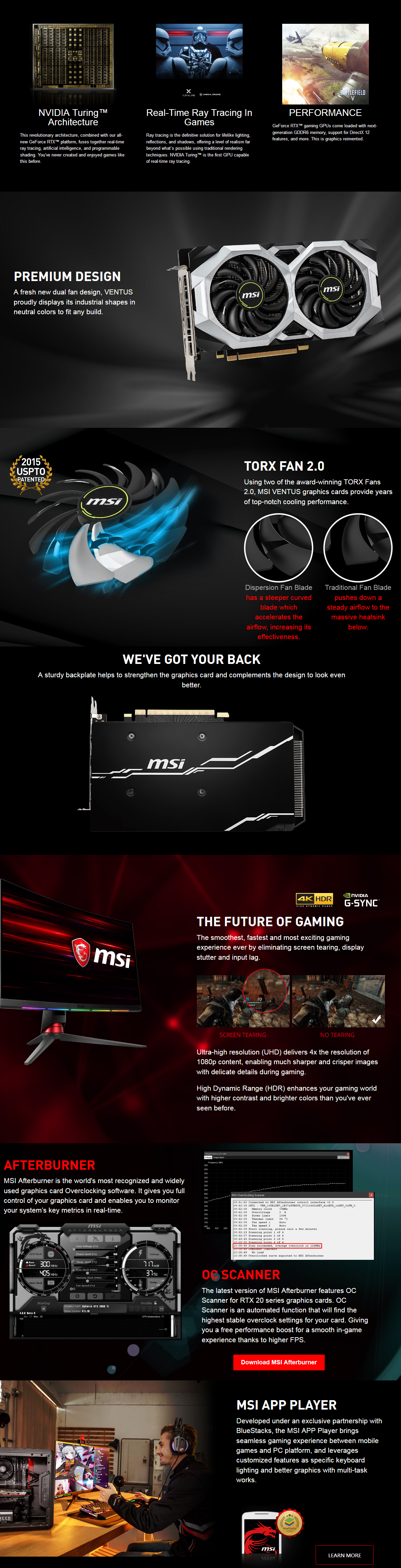 Buy Online MSI GeForce RTX 2060 VENTUS XS 6G OC Graphic Card - in India