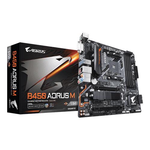 Gigabyte B450 AORUS M AMD AM4 Motherboard