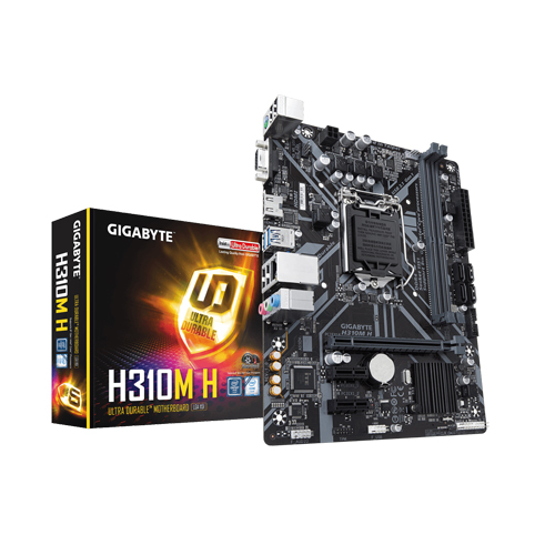 Gigabyte H310M H Ultra Durable Motherboard