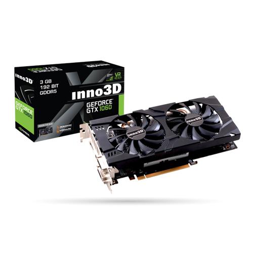 1060 Graphics Card >> Buy Online Inno3d Geforce Gtx1060 Twin X2 3gb Gddr5 Graphic Card
