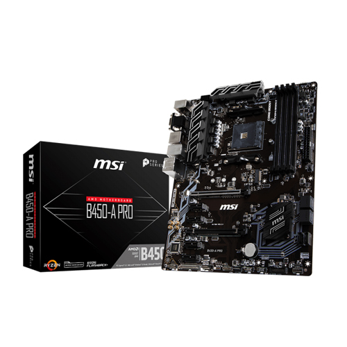 MSI B450-A PRO AM4 Socket Motherboard