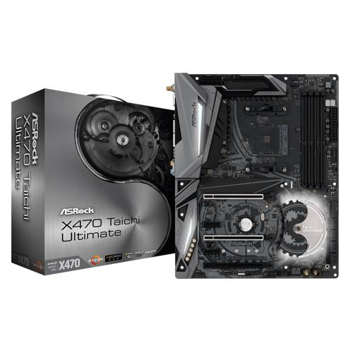 ASRock X470 Taichi Ultimate AM4 AMD Promontory ATX AMD Motherboard