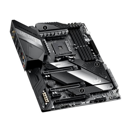 ASUS ROG Crosshair VIII Hero AMD X570 ATX Gaming Motherboard